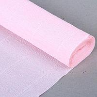 """Бумага гофрированная, 569 """"Бело-розовая"""", 0,5 х 2,5 м"""