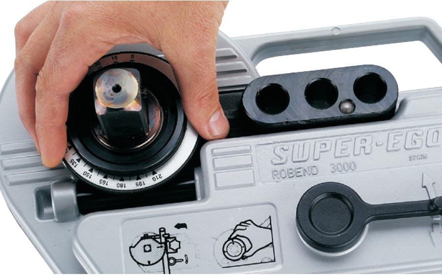 Электромеханический трубогиб ROBEND 4000 12 - 15 - 18 - 22 - 28 мм SUPER-EGO - фото 8