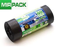 """Мусорный пакет 60 л, 20 шт/рул """"PREMIUM+"""", ПСД, 20 мкм, размер 60х70 см, черные, фото 1"""