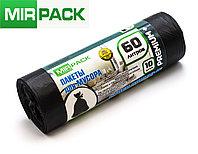 """Мусорный пакет 60 л, 10 шт/рул """"PREMIUM+"""", ПСД, 20 мкм, размер 60х70 см, черные, фото 1"""