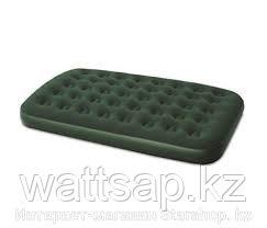 Матрас надувной двуспальный 191х137х22 см, max 295 кг, Bestway 67448, поверхность флок