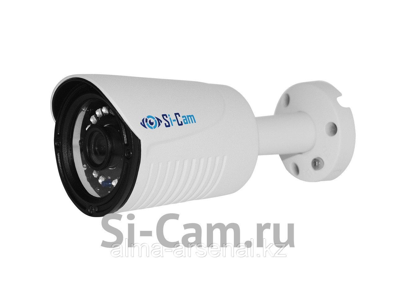 Цилиндрическая уличная AHD видеокамера SC-HL201F IR