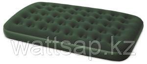 Матрас надувной двуспальный 203х152х22 см, max 273 кг, Bestway Comfort Quest 67449, поверхность флок