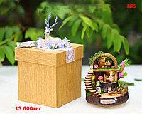 Сувенирный кукольный домик в миниатюре (собери сам)