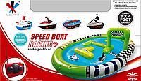 Радиоуправляемые водные мотоциклы Speed Boat Racing с надувным бассейном, фото 1