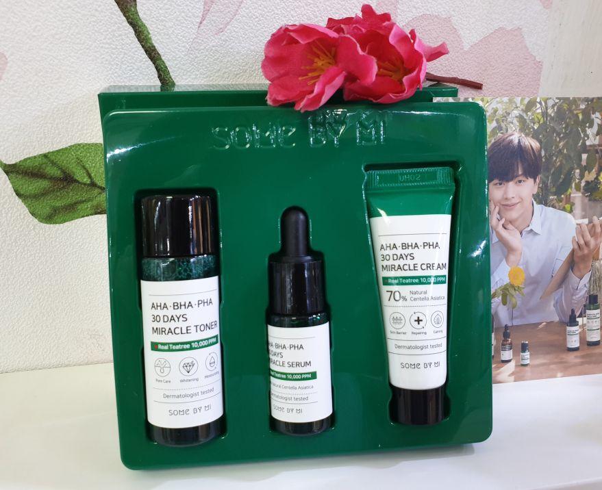 Мини-набор для проблемной кожи  Some By Mi AHA/BHA/PHA 30 Days Miracle Travel Kit