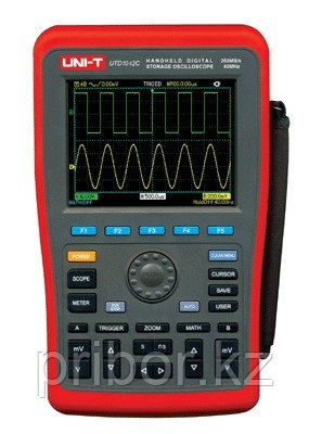 Осциллограф-мультиметр 40МГц, 2-х канальный UNI-T UTD1042C