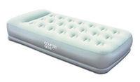 Кровать надувная односпальная 191х97х38 см, max 227 кг, Bestway 67455, поверхность флок, встроенный насос