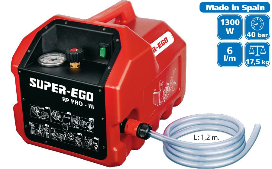 Электрический насос для испытаний SUPER-EGO RP-PRO III