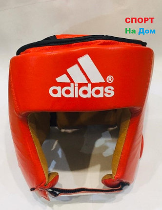 Боксёрский шлем и для единоборств Adidas Размер M (цвет красный), фото 2