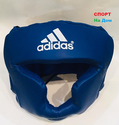 Боксёрский шлем и для единоборств Adidas Размер L (цвет синий), фото 2