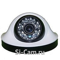 Купольная внутренняя AHD видеокамера SC-HL203F IR