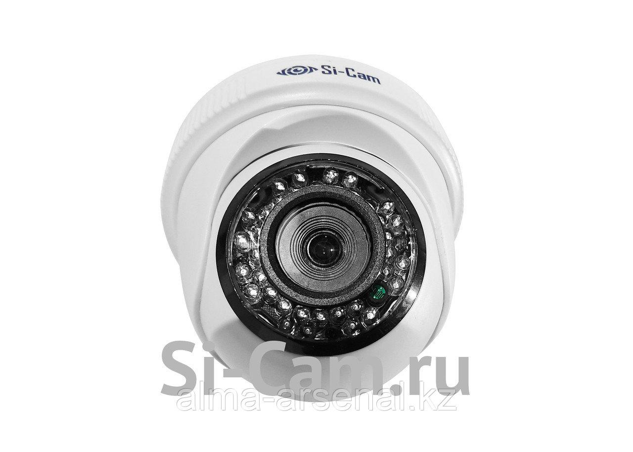 Купольная внутренняя AHD видеокамера SC-HL204F IR