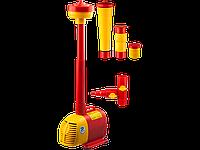 Насос GRINDA фонтанный д/чистой воды, 3 насадки, пропускная способность 3600 л/ч, высота подачи воды 4,2 м,