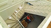 Лестница из натурального камня на заказ