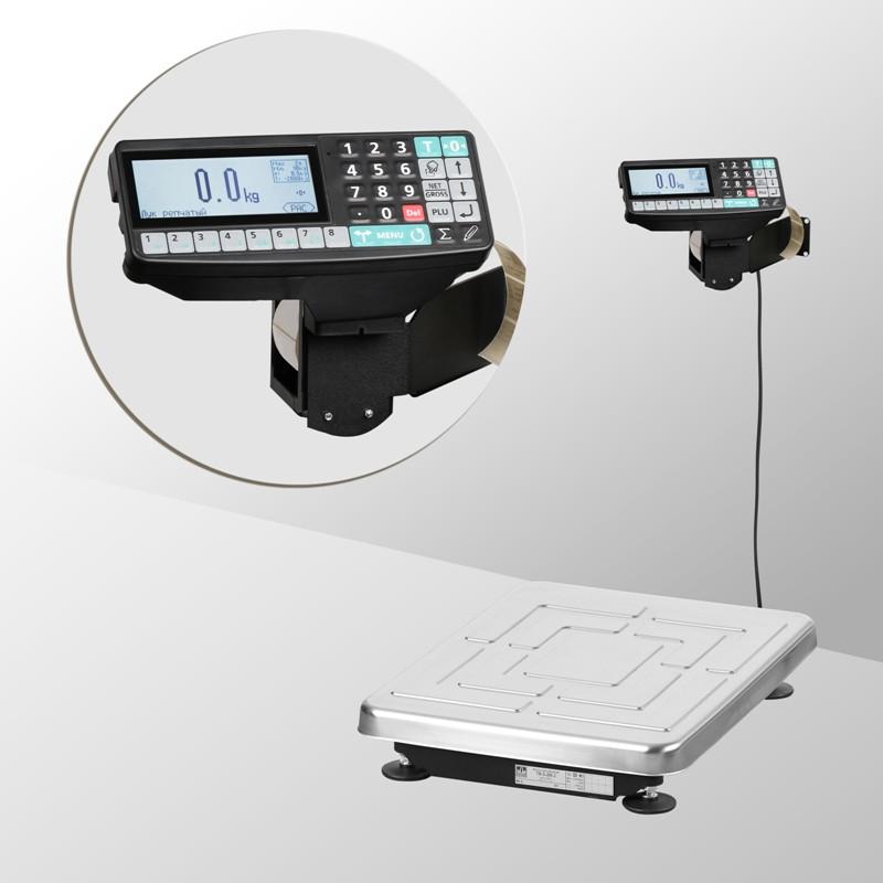 Весы с печатью этикеток и чеков TB-S-60.2- RP-1 10/20 г, 60 кг