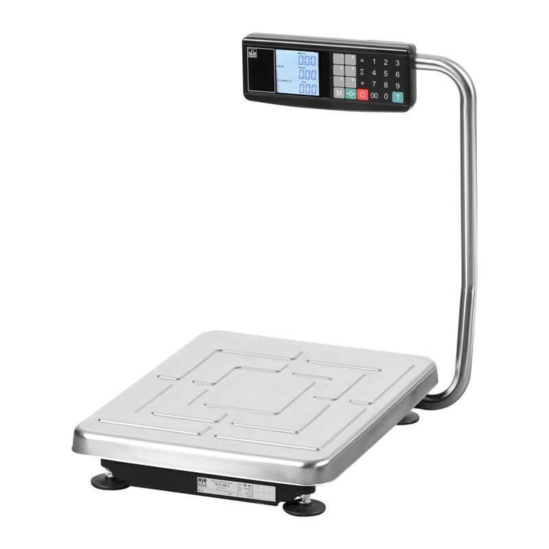 Товарные весы c расчетом стоимости TB-S-60.2- Т2 10/20 г, 60 кг