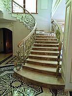 Лестница из мрамора на заказ