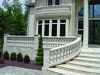 Мрамор для отделки лестницы на заказ