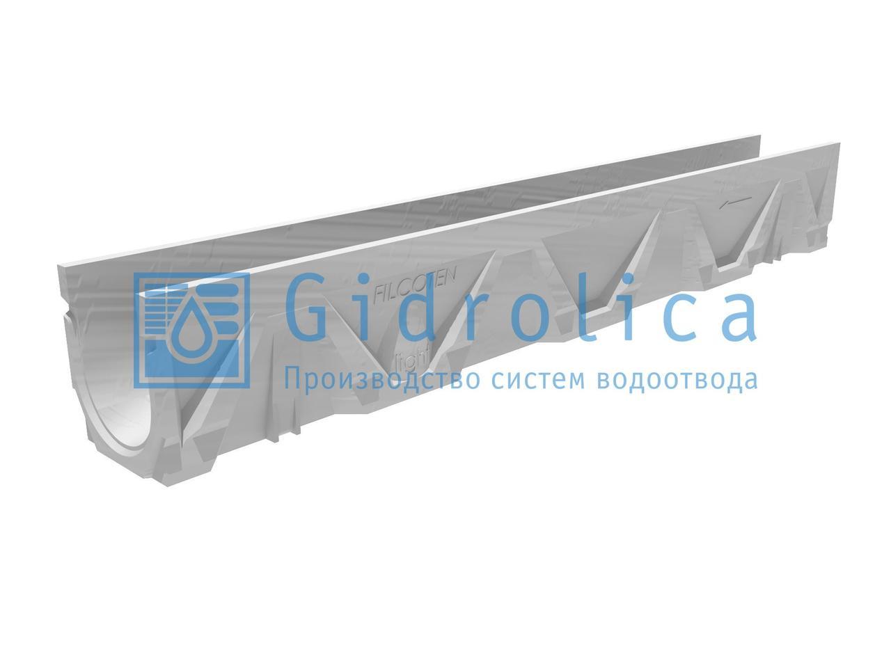 Лоток композитбетонный Filcoten DN100, №0