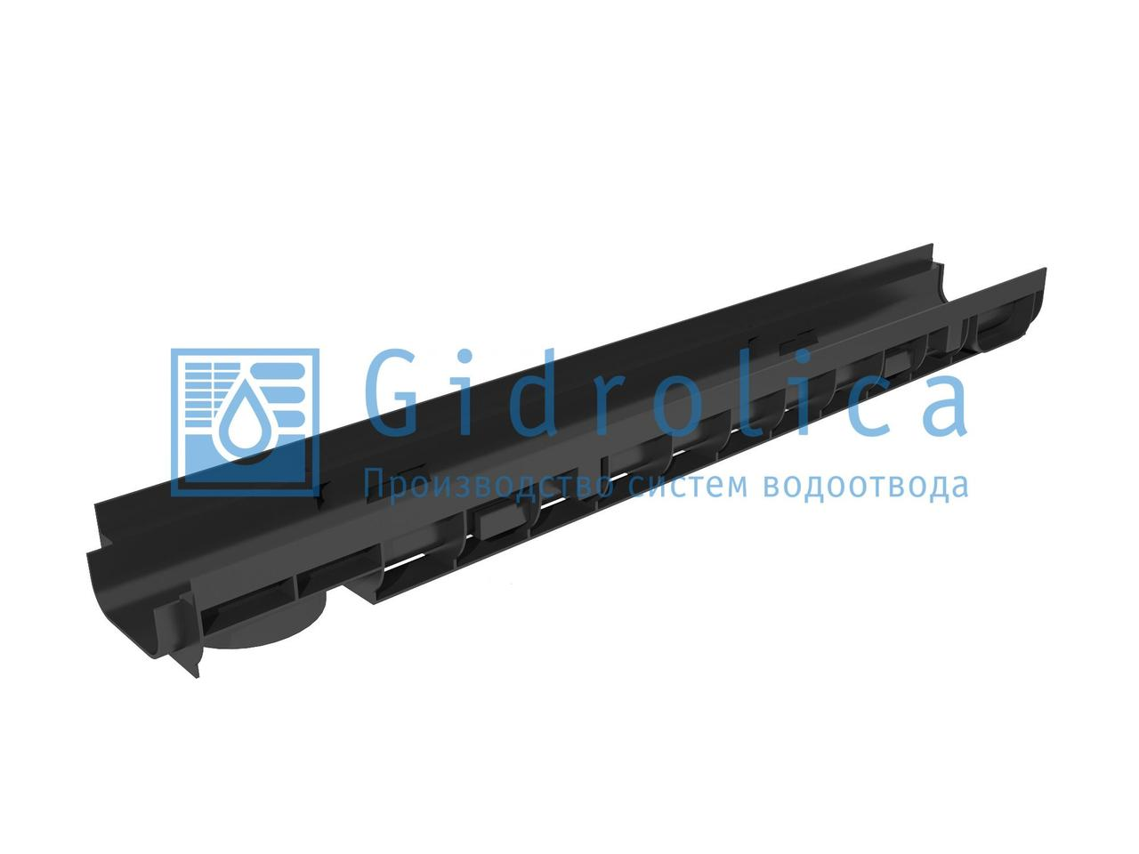 Лоток водоотводный Gidrolica Super ЛВ -20.24,6.20 - пластиковый, кл. Е600