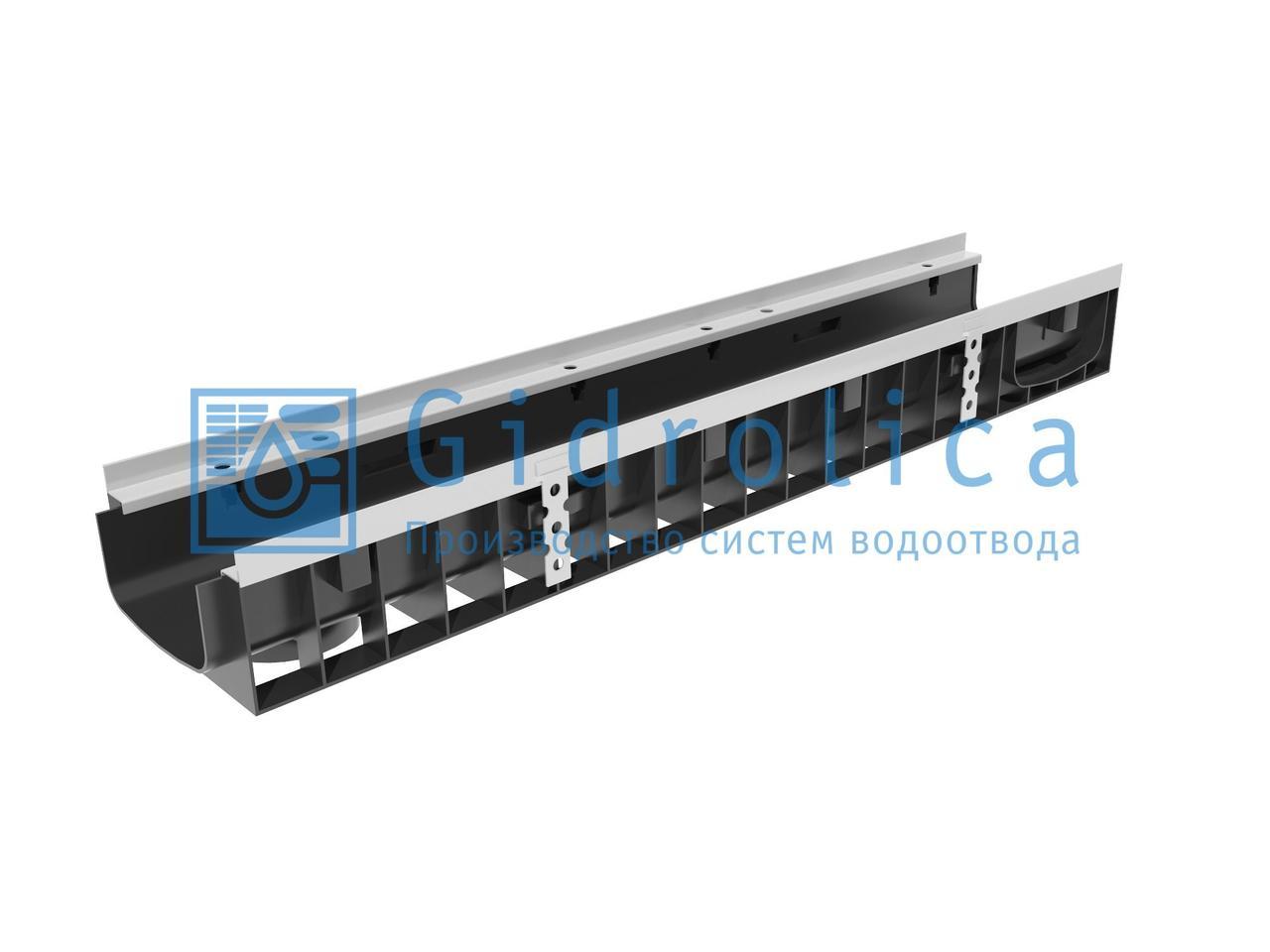 Пескоуловитель Gidrolica Standart ПУ-20.24,6.46 пластиковый универсальный для лотков пластиковых DN150 и DN200