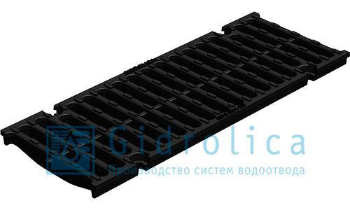 Решетка водоприемная Gidrolica Light РВ -30.37.100 - стальная ячеистая оцинкованная, кл. А15