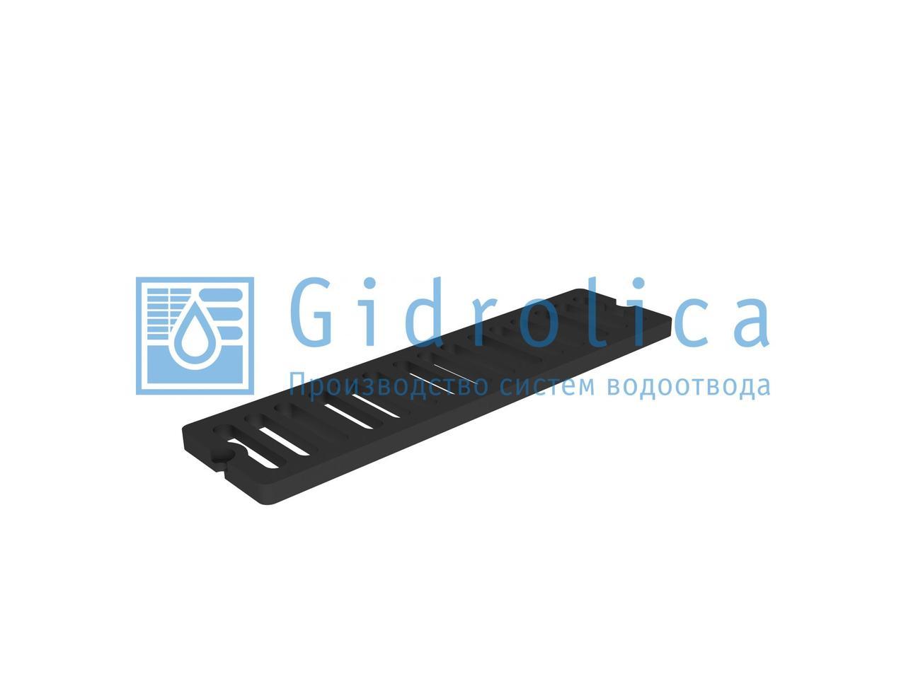 Решетка водоприемная СЧ 750*200*27 – чугунная, кл. D400