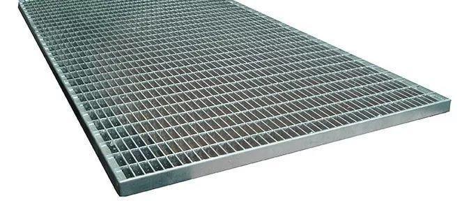Решетка Gidrolica Step Pro 490х990мм - стальная ячеистая оцинкованная