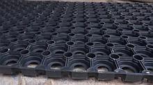Амортизатор резиновый для придверных систем грязезащиты