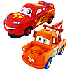 Cars 2 Тачки Набор машинок Маквин и Мэтр музыкальный Super Power Light and Music and Dance