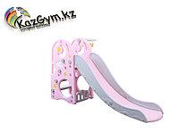Детская горка-розовая, фото 1