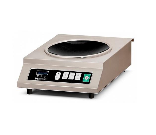Плита индукционная HURAKAN HKN-ICW35M WOK (350x450x200 мм, 3,5кВт, 220В )