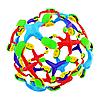 Головоломка Шар Трансформер увеличивающийся в размере Mini Sphere Transform