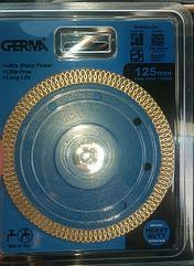 Диск алмазный Germa 125 мм по керамике турбо