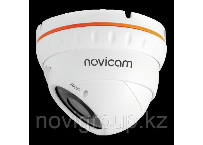 BASIC 27 Вандалозащищённая уличная всепогодная купольная IP видеокамера 1080p с ИК подсветкой