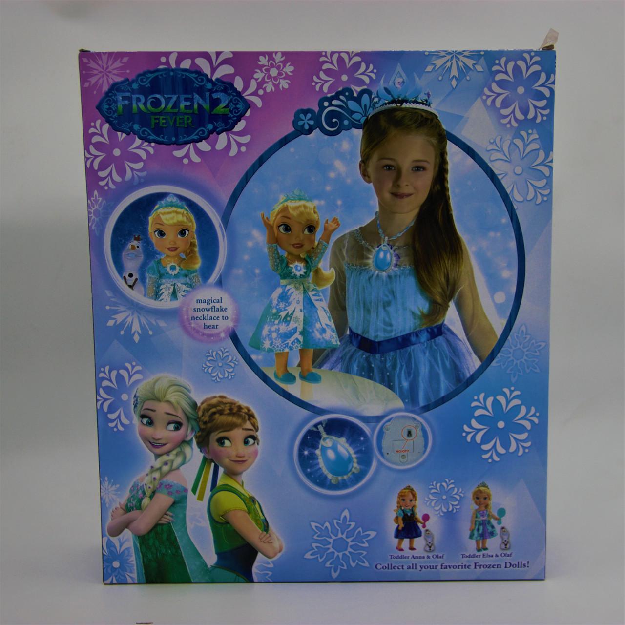 """Кукла """"Холодное сердце"""" Эльза и Олаф с микрофоном - фото 5"""
