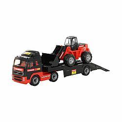 "204-01 ""MAMMOET VOLVO"", автомобиль-трейлер + трактор-погрузчик"