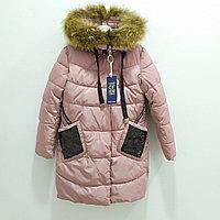 Куртка зимняя для девочек от 8 до 16 лет, розовый., фото 1