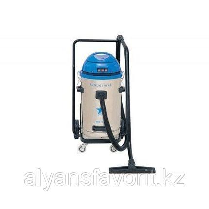Промышленный пылесос с мокрым и сухим вакуумом WD 753, фото 2
