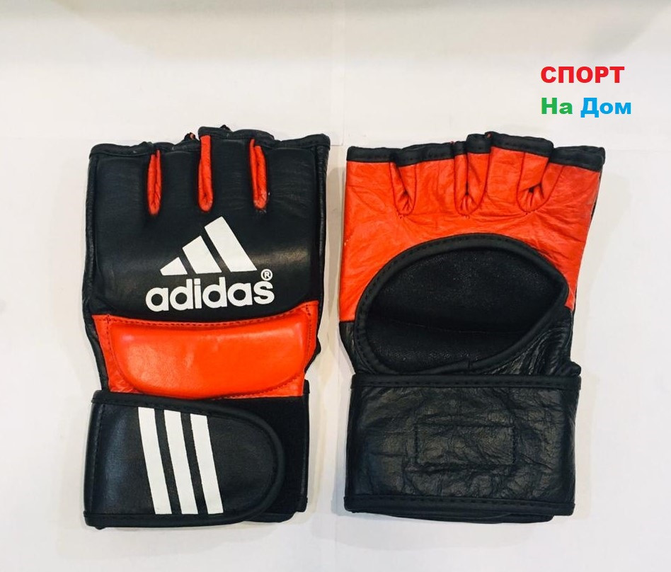 Перчатки шингарты для боевых искусств Adidas Размер M (цвет красный, черный)