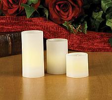 Набор светодиодных светильников Свечи 3 шт, фото 3