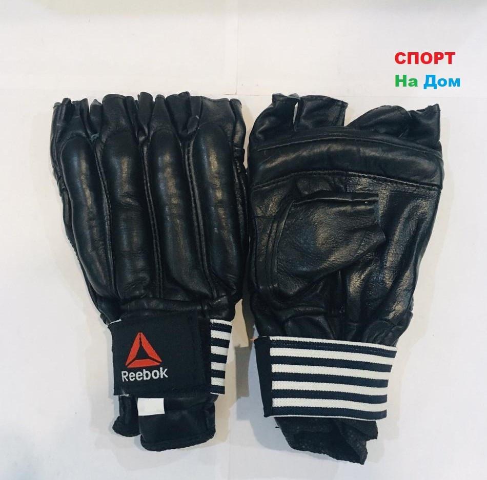 Перчатки шингарты для боевых искусств Reebok Размер M (цвет черный)