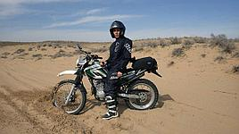 Мототур в песчаную пустыню Косозен