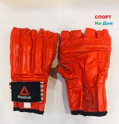 Перчатки шингарты для боевых искусств Reebok Размер S (цвет красный), фото 2