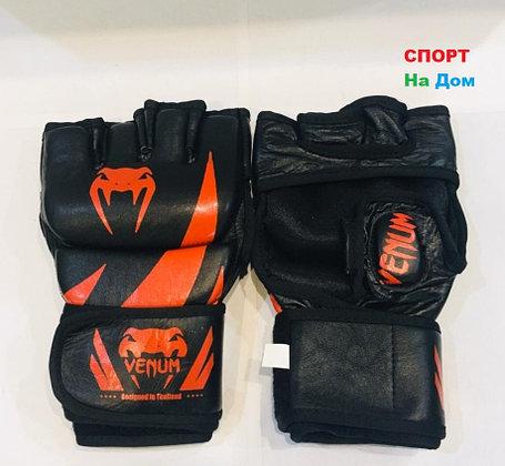 Перчатки шингарты для боевых искусств Venum Размер S (цвет красный, черный), фото 2