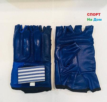 Перчатки шингарты для боевых искусств Top Ten Размер M (цвет синий), фото 2