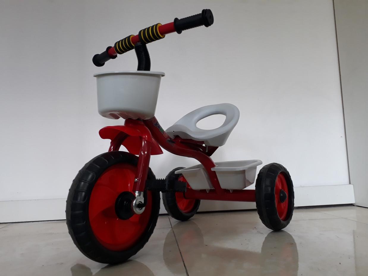 Трехколесный велосипед на гелиевых колесах. Отличный подарок.