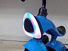 Трехколесный велосипед на гелиевых колесах Bugatti. Играет музыка и светит фара!, фото 2