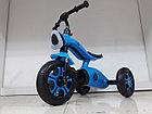 Трехколесный велосипед на гелиевых колесах Bugatti. Играет музыка и светит фара!, фото 3